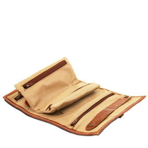 Esclusivo portagioie in pelle Marrone TL141621
