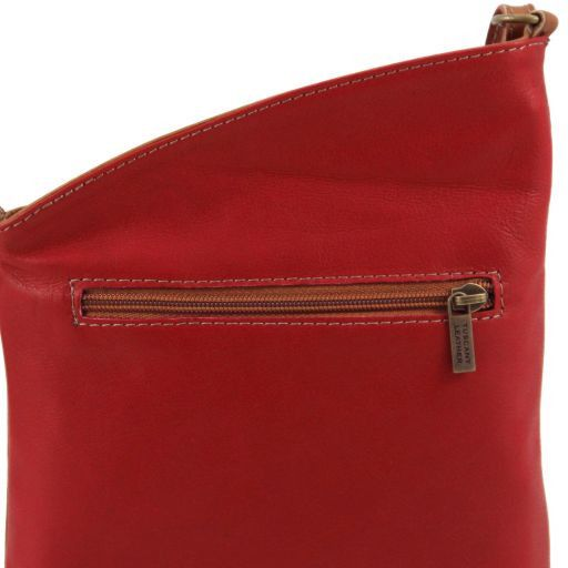 TL Bag Mini soft leather unisex cross bag Red TL141111