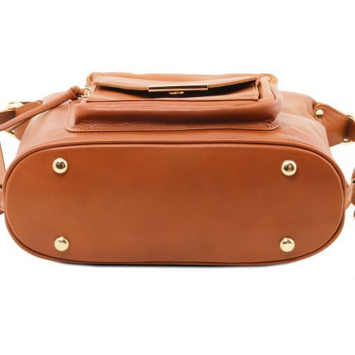 TL Bag Leather convertible bag Cognac TL141535