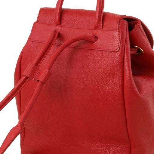 TL Bag Lederrucksack für Damen aus weichem Leder Champagne TL141697
