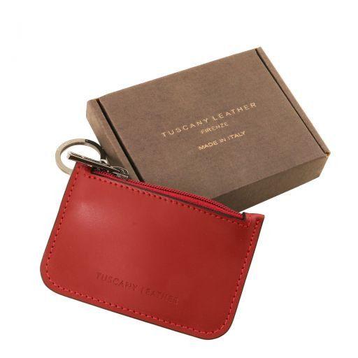 Porte clé en cuir Brandy TL141671