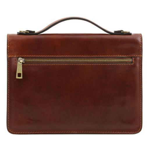 Eric Leather Crossbody Bag Honey TL141443