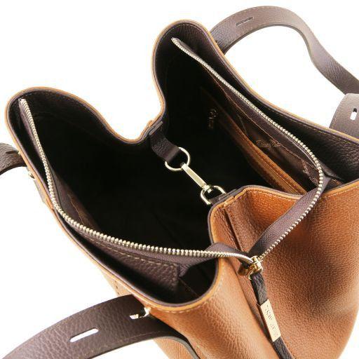 TL Bag Sac shopping en cuir Cognac TL141730