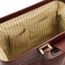 Raffaello Doctor leather bag Brown TL141852
