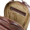 Kyoto Leather laptop backpack Коричневый TL141859