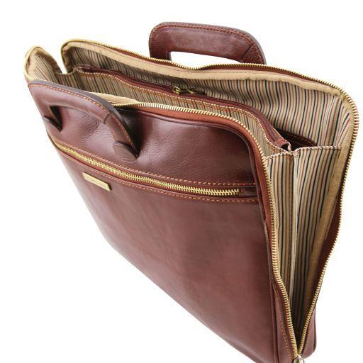 Caserta Cartella portadocumenti in pelle Marrone TL141324