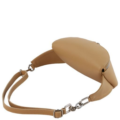 Erica Soft leather fanny pack Черный TL141877