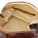 Francoforte Sac de voyage en cuir - Petit modèle Marron TL140935