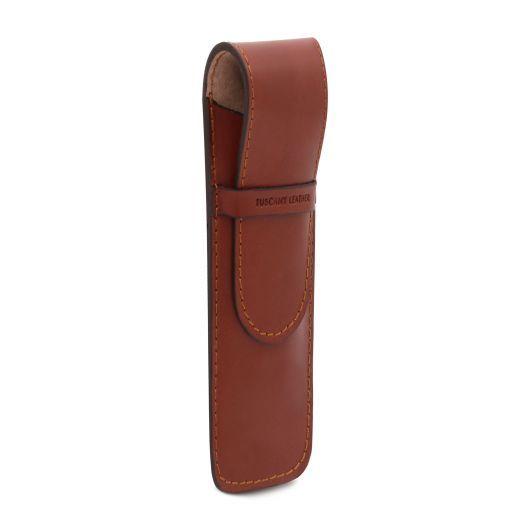 Esclusivo porta penne in pelle Nero TL141274