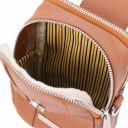 TL Bag Soft Leather cellphone holder mini cross bag Cognac TL141698