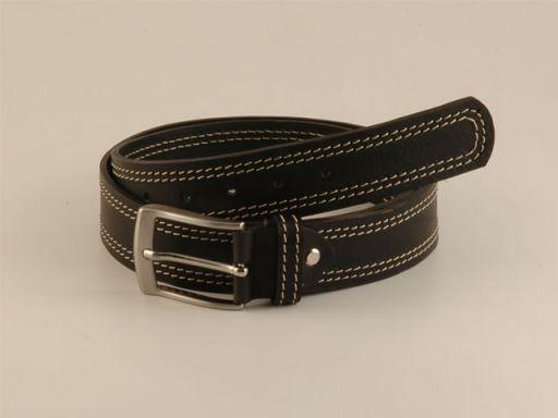 Esclusiva cintura in pelle Nero TL140564