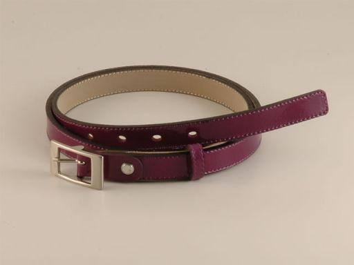 Esclusiva cintura in pelle Viola TL140577