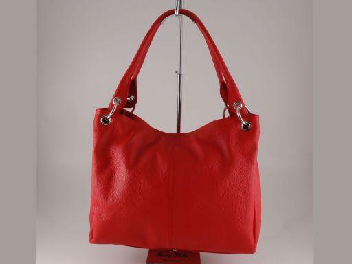 Agnese Borsa in pelle da donna Rosso TL140637