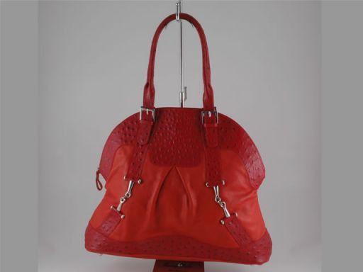 Francesca Borsa donna in pelle Rosso TL140641