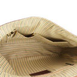Padova Эксклюзивная кожаная сумка для ноутбука Темно-коричневый TL140891