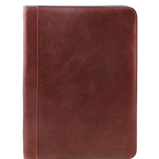 Ottavio Эксклюзивная кожаная папка для документов Коричневый TL141214