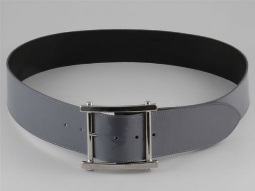 Esclusiva cintura in pelle Grigio chiaro TL140652