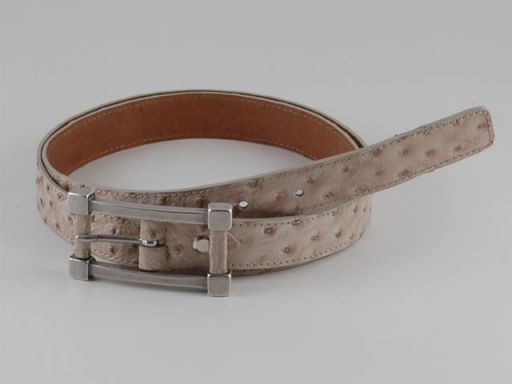 Esclusiva cintura in pelle Sabbia TL140656