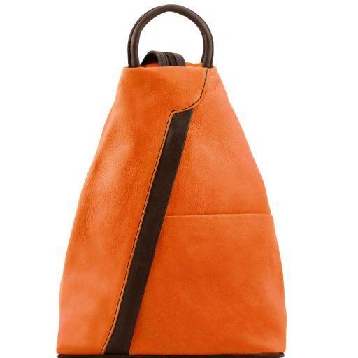 Shanghai Sac à dos en cuir Orange TL141608