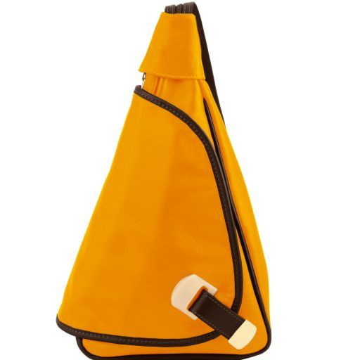 Hanoi Leather backpack Yellow TL141622