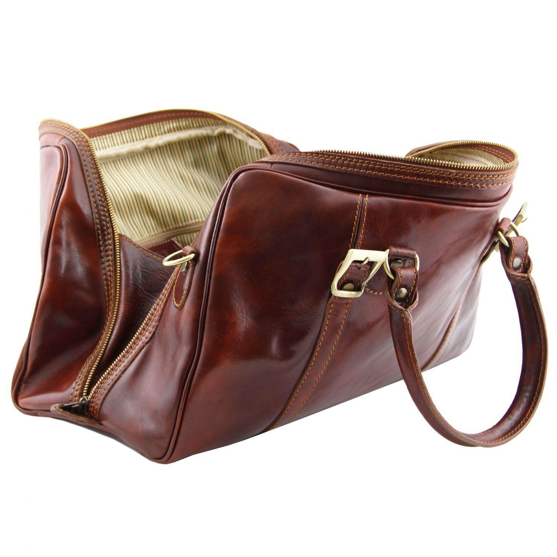 Tuscany Leather - Berlin - Sac de voyage en cuir - Petit modèle Miel - TL1014/3 dNNsJ