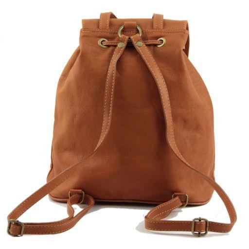 Seoul Рюкзак из мягкой кожи - Малый размер Коричневый TL90143