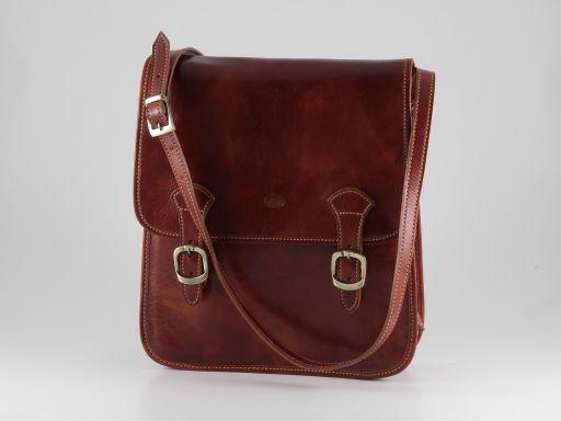 Patrick Leather Crossbody Bag Black TL90177
