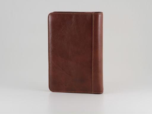 Alessandro III Leather organizer Коричневый TL10204
