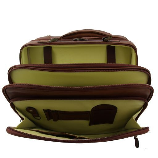 New York Exclusive trolley cabine bag Brown FC140207