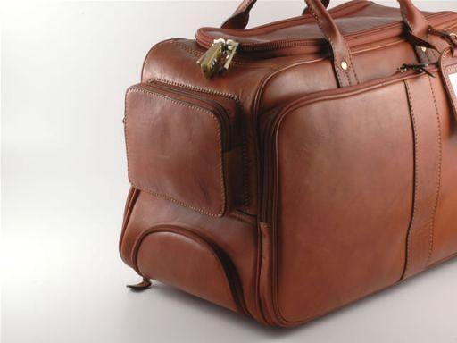 Barbados Elegante maleta con ruedas Marrón FC140222