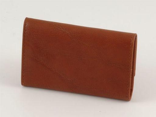 Portachiavi in pelle Marrone TL140269