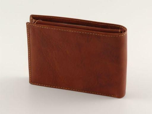 Esclusivo portafoglio in pelle uomo Nero TL140461