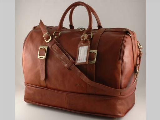 Istanbul Travel leather bag Коричневый FC140487