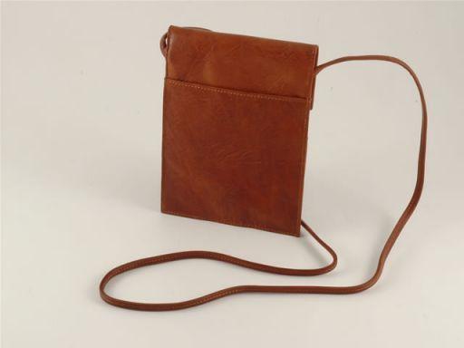 Esclusivo borsello in pelle Marrone TL140505