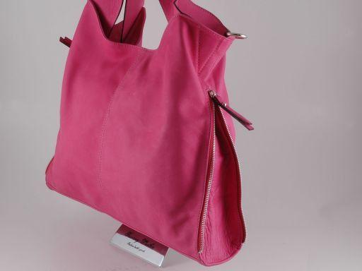 Aurora Sac en cuir pour femme Fuchsia TL140694