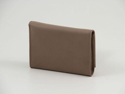 Esclusivo portafogli in pelle nappata Nero TL140906