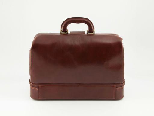 Caravaggio Leather doctor bag Черный TL140951
