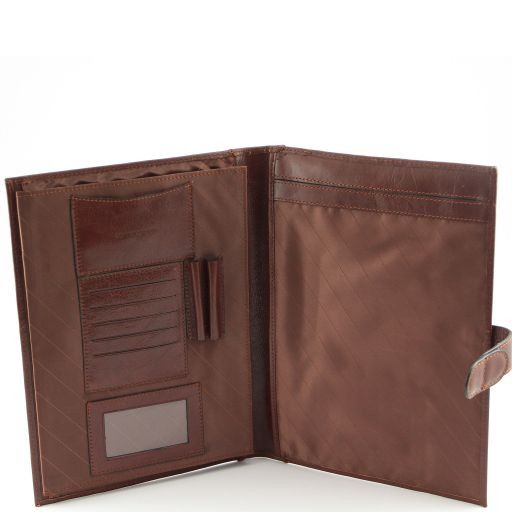 Socrate Exclusive Leather Portfolio Brown TL140955