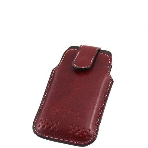 Esclusivo porta iPhone3 iPhone4/4s in pelle Nero TL140983
