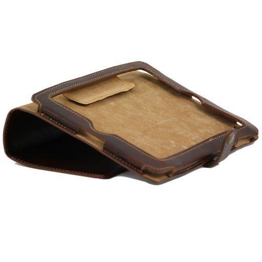 Esclusivo porta iPad in pelle Miele TL141001