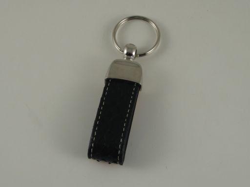 Esclusivo portachiavi in pitone Nero TL140735
