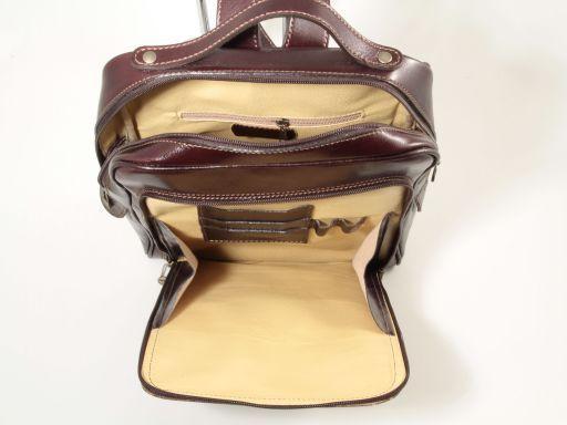 Bangkok Leather laptop backpack Красный TL141063