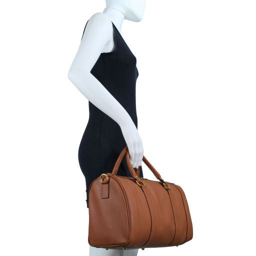 TL Bag Bauletto medio in pelle Ottanio TL141079