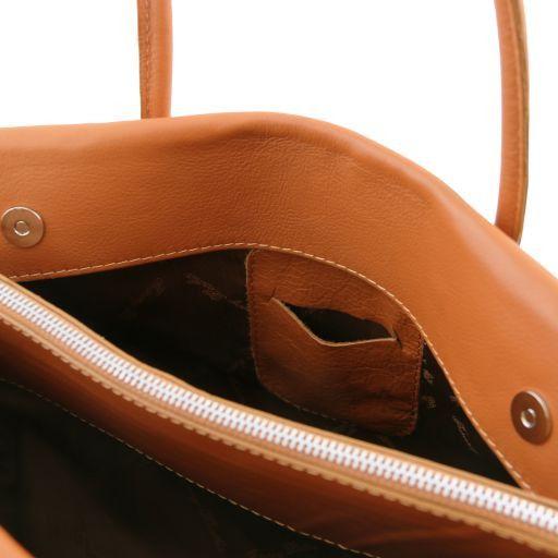 TL Bag Borsa morbida con nappa e tracolla Beige TL141091