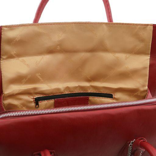 TL Bag Borsa morbida con nappa e tracolla Verde scuro TL141091