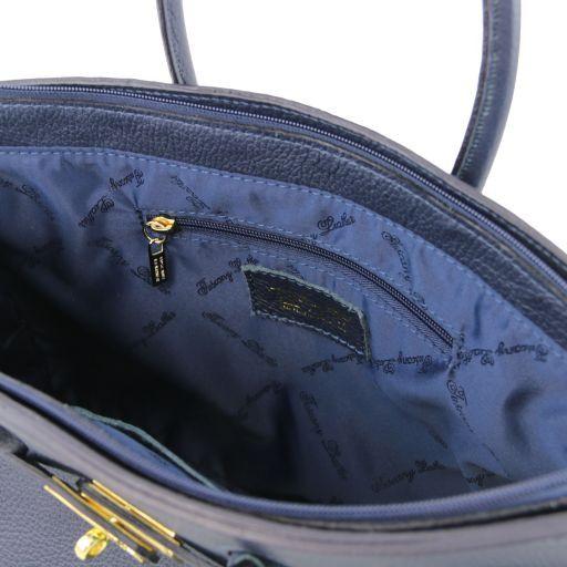 TL KeyLuck Borsa a mano media con accessori oro Mattone TL141092
