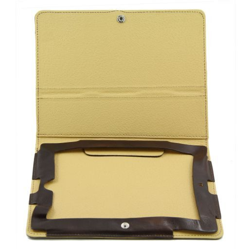 Leather iPad case Honey TL141112