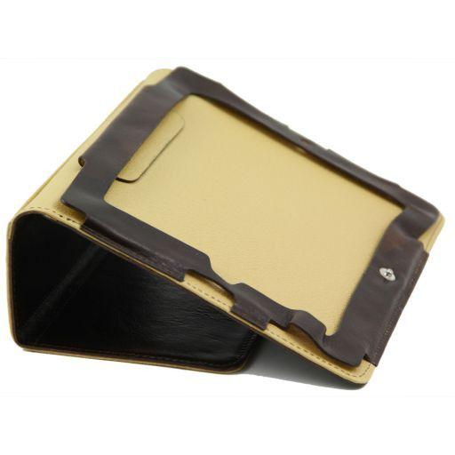 Leather iPad case Brown TL141112