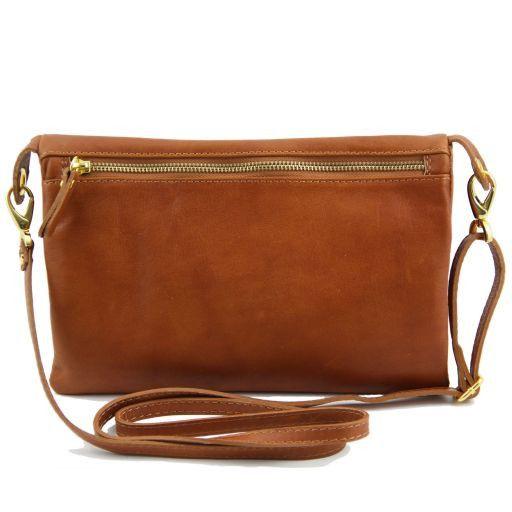 TL Rockbag Borsa doppia con tracolla e borchie Blu TL141115