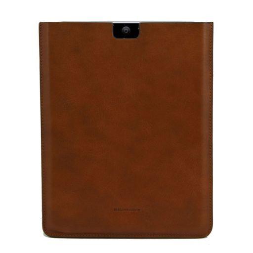 Esclusivo porta iPad in pelle Mattone TL141129